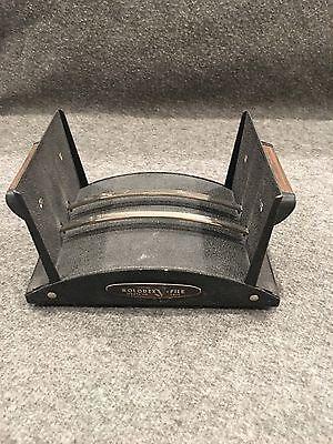 Rolodex File Model V524 Black Vintage