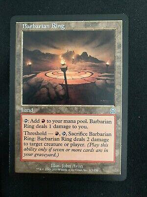 MTG Barbarian Ring Land Card (odyssey) Magic The Gathering