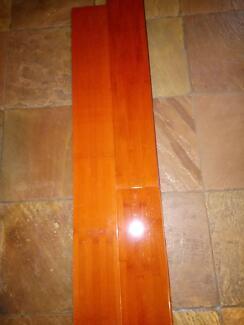 Bamboo floorboards, new