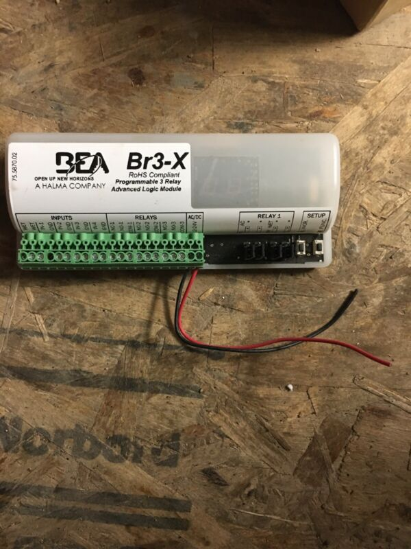 BEA 10BR3X RoHS Complient Programmable 3 Relay Advanced Logic Module