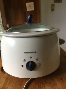Black & Decker mijoteuse / slow cooker
