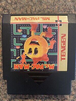 Ms. Pac-Man (Tengen) (Nintendo Entertainment System) NES Mrs Pac-Man Pacman