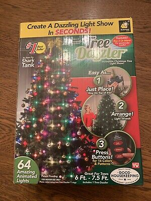Tree Dazzler Christmas Animated LED Light Show for Christmas Tree-Shark Tank-NEW ()