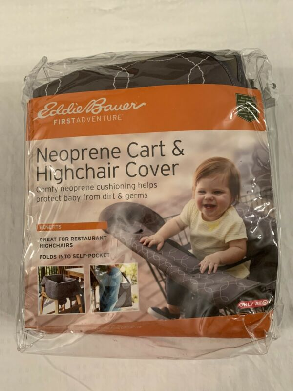 Eddie Bauer Baby High Chair/Grocery Cart Cover protects from Dirt and Germs
