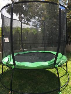 Only 10months old quality 8ft Lifespan Kids SPRINGLESS Trampoline
