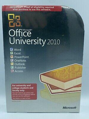 Microsoft Office University 2010 New U6L-00003