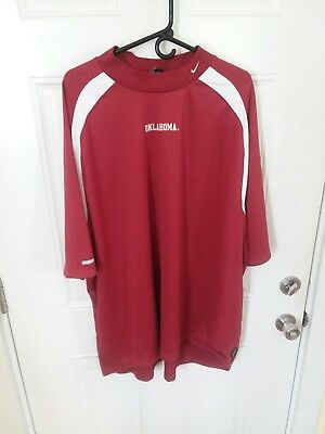 Men's Nike Team Oklahoma Sooners Pullover Fleece, Size 3XL (293) (Fleece Oklahoma Pullover)
