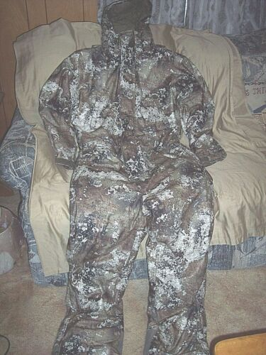 XL Tall Strata Camo Coveralls Insulated Hunting Coveralls Waterproof Coveralls