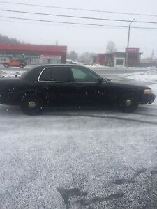 2011 Crown Victoria Police Interceptor