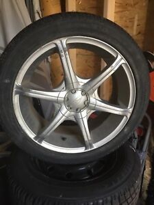 Eagle alloy wheels and tires for sale