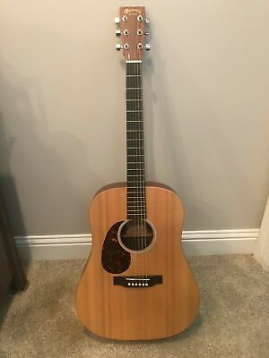 Martin Custom X Series 2015 DX1AE Dreadnought Acoustic-Electric Guitar Left Hand