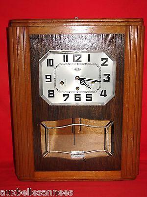 Antique Chime GIROD - 2 Melodies - Clock - Pendulum - Antique French