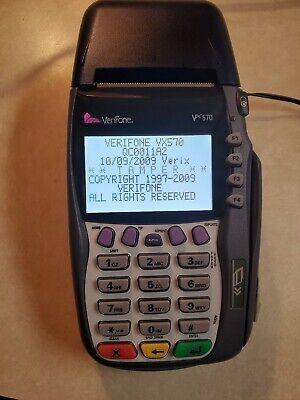 Verifone Vx570 Omni 5700 Credit Card Terminal No Chip