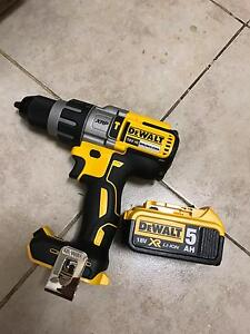 DEWALT HAMMER DRILL 18 v brushless with battery 5 AH Mount Lewis Bankstown Area Preview