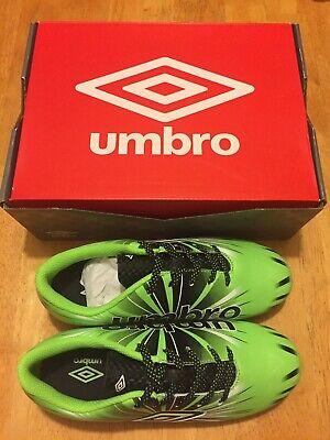 66299bc3884 NEW Umbro Arturo 3.0 Soccer Cleats Kids GREEN Size 1.5 Youth NIB