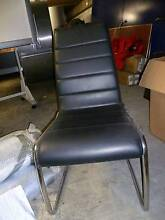 4 black leather dinning chairs Edgecliff Eastern Suburbs Preview