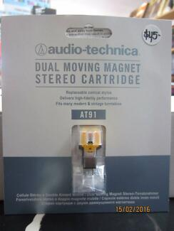 GENUINE AUDIO TECHNICA AT-91 CARTRIDGE AND STYLUS,NEW