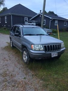 2001 Jeep Grand Cherokee Limited for sale or trade