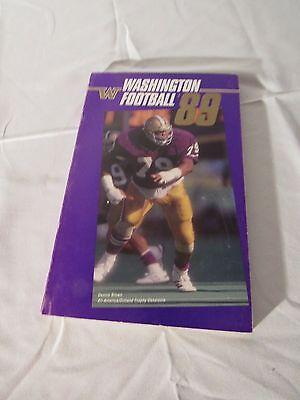 University of Washington 1989 Football Book Yearbook U of W Used Don James Years - U Of Washington Football
