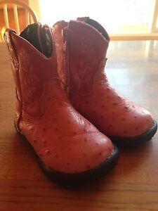 Roper size 4 pink cowboy boots