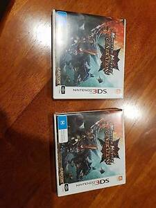 2 Nintendo 3DS Monster Hunter Generations Games For Sale Moonta Bay Copper Coast Preview