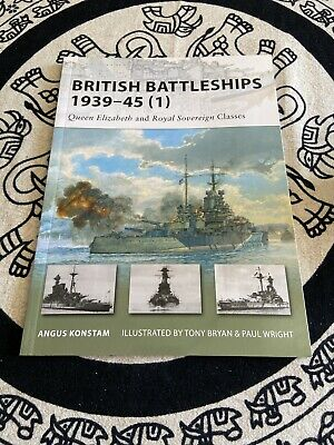 New Vanguard: British Battleships, 1939-45 (1) : Queen Elizabeth and Royal...