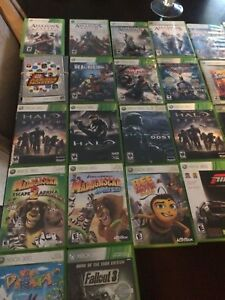 Assorted Xbox 360 games $5 each
