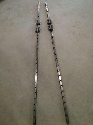 Thk Hsr30la1600mm Linear Guide Rail Bearing Cnc Router 2rails4block