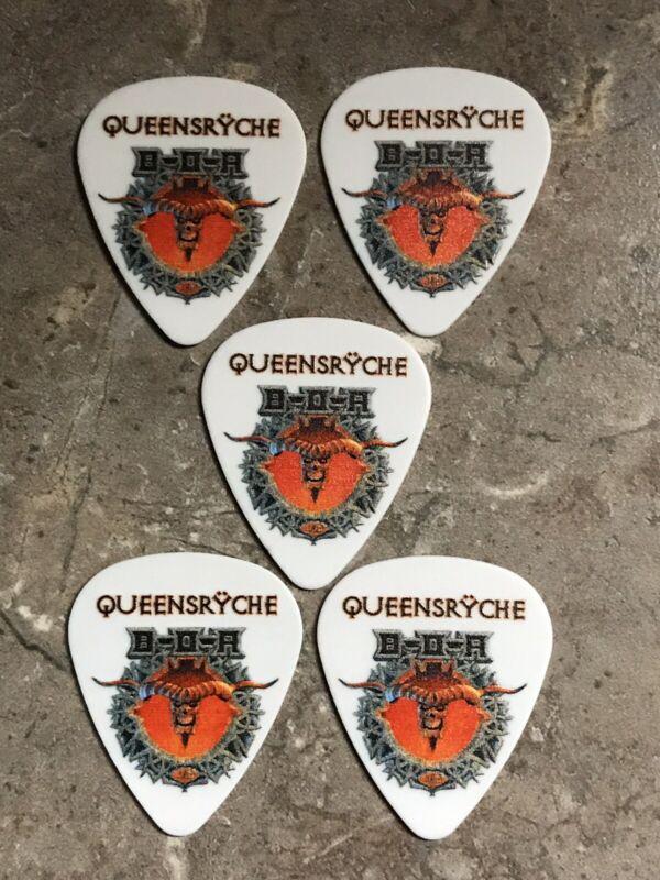 Queensryche 2019 UK Bloodstock Festival Guitar Pick Set-Super Rare