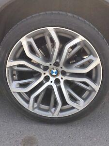 """4 mags d'origine BMW X6 ou X5 5 X 120 21"""""""