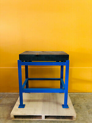 A. Ottavino 30 X 20 X 4 Precision Granite Surface Plate With Stand