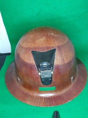 Msa Miners Hard Hat Brown Used