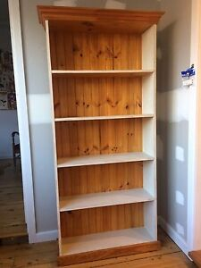 Timber Bookcase Ryde Ryde Area Preview