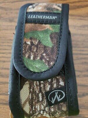 - Leatherman Deluxe Realtree Camo multi tool sheath FREE / Super tool / Wave /