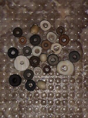 25 Disc Beads Attributed As Pre-Columbian Tairona  - Native South American