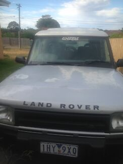 Land Rover Discovery Series 1 with rego