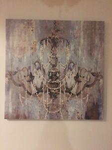 Decorative canvas picture