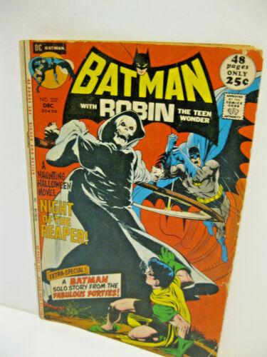 Batman With Robin Teen Wonder DC Comic Book (#237, 1971) Reaper 1st Appearance