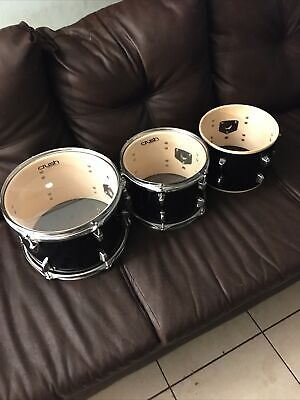 3 Piece Crush Drum Alpha Toms (Smallest Needs Cover)