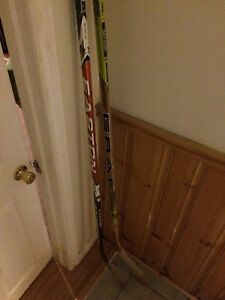 Carbon fibre hockey stick