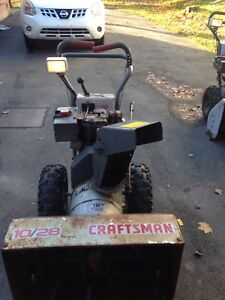 Craftsman 10/28 snowblower