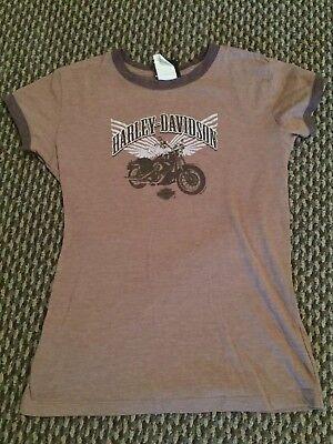 Женская футболка Brown Juniors L Harley