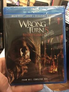 Wrong Turn 5 bloodlines - Bluray (NEW)