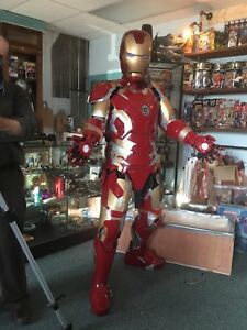 Wearable Iron Man Mark XLIII Suit of Armour - Fan Expo Cosplay