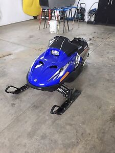 Yamaha SRX 120 snowmobile