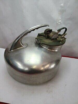 Vintage Babson Bros Co Surge Milker Stainless Steel Milking Milk Bucket