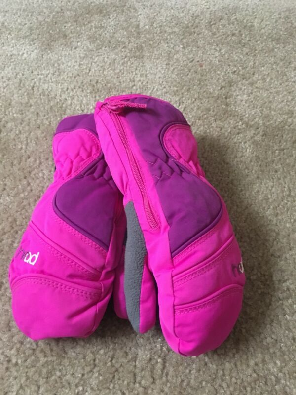 HEAD OUTLAST Girls Lined Gloves Sz S MultiColor Mittens MultiColor