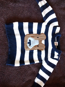 Brand New Seed 6-12mths Sweater Elwood Port Phillip Preview