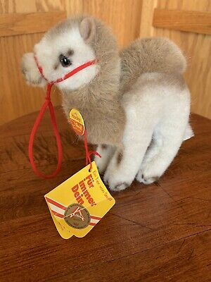 vintage STEIFF HOCKY CAMEL plush toy AUSTRIA all tags 1977 - 1983
