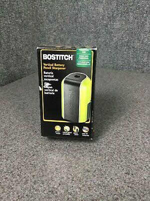Bostitch Vertical Battery Pencil Sharpener Black Green M48c